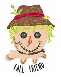 Fall Friend embroidery design