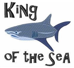 King Of Sea embroidery design