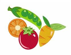 Eat Vegetables embroidery design