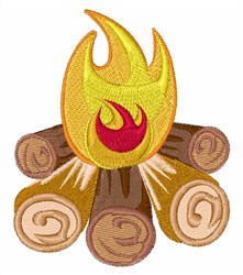 Around The Campfire embroidery design
