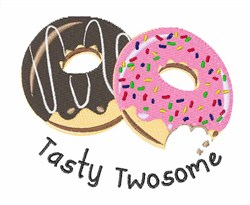 Tasty Twosome embroidery design