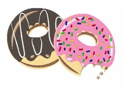 Donut Food embroidery design