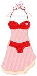 Valentine Lingerie embroidery design