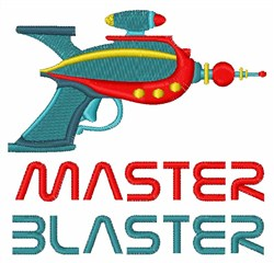 Master Blaster embroidery design