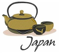 Japanese Tea Japan embroidery design