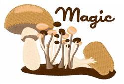 Magic Mushroom embroidery design