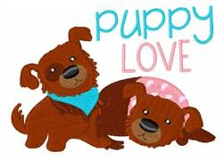 Puppy Love embroidery design