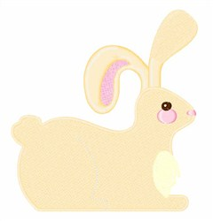 Cute Bunny embroidery design