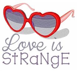 Romantic Glasses embroidery design