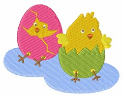 Hatching Chicks embroidery design