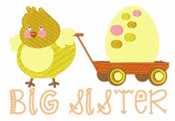 Big Sister embroidery design