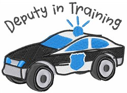 Deputy In Training embroidery design