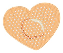 Heart Bandage embroidery design
