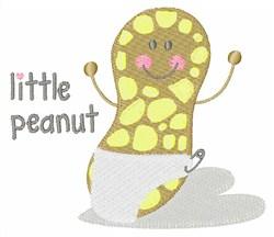 Little Peanut embroidery design
