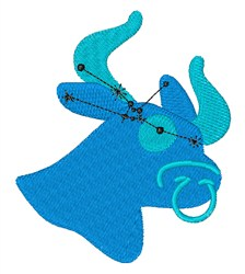 Taurus Stars embroidery design