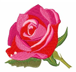 Rose In Bloom embroidery design