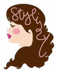 Hair Stylist embroidery design