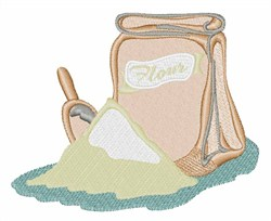 Flour Bag embroidery design