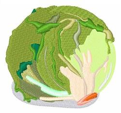 Lettuce Head embroidery design