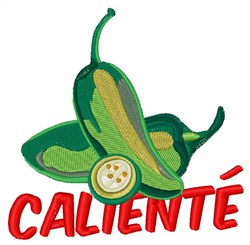 Caliente Jalapeno embroidery design