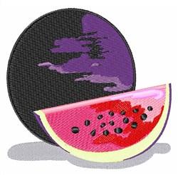 Xigua Fruit embroidery design