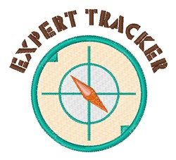 Expert Tracker embroidery design