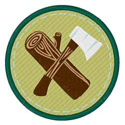 Wood Ax embroidery design