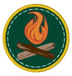 Campfire Circle embroidery design