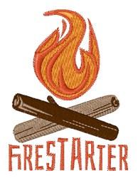 Firestarter Campfire embroidery design