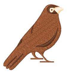 Bird Hobby embroidery design