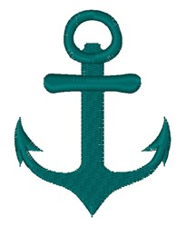 Nautical Anchor embroidery design
