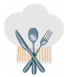 Chef Hat embroidery design