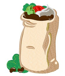 Sack Of Beans embroidery design