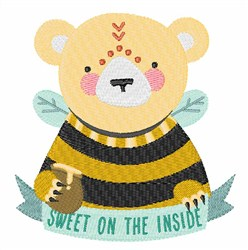 Sweet on the Inside embroidery design