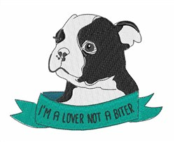 I Am Not A Biter embroidery design