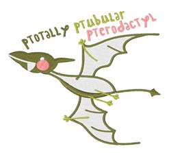 Totally Pterodactyl embroidery design