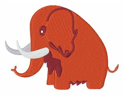 Woolly Mammoth embroidery design