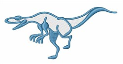 Raptor embroidery design