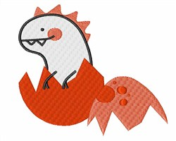 Baby Dinosaur embroidery design