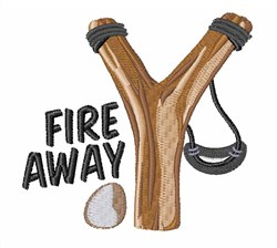 Fire Away embroidery design