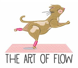 Art Of Flow embroidery design