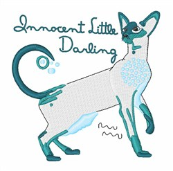 Innocent Little Darling embroidery design
