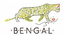 Bengal embroidery design