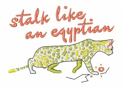 Stalk Like Egyptian embroidery design