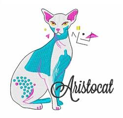 Aristocat embroidery design