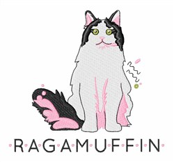 Ragamuffin embroidery design