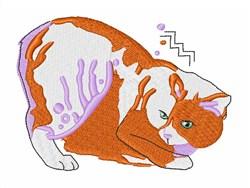 Manx Cat embroidery design