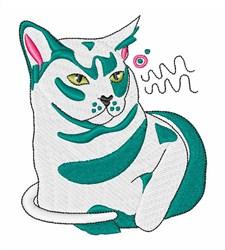 Burmese Cat embroidery design