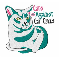 Cat Calls embroidery design