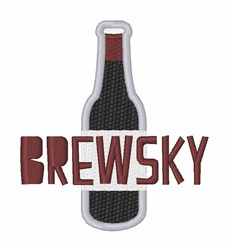 Brewsky embroidery design